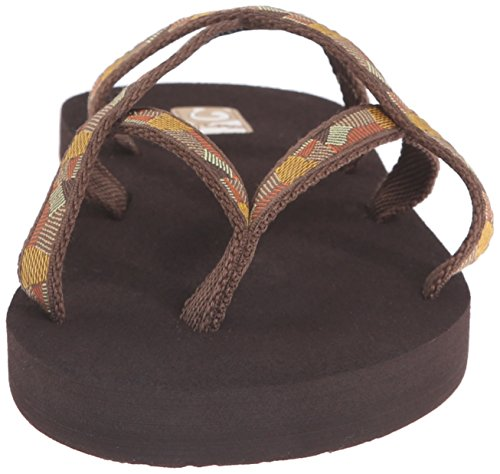 Teva Damen Olowahu-2 Pack Sandale Mbob / Wasserfall Golden Brown