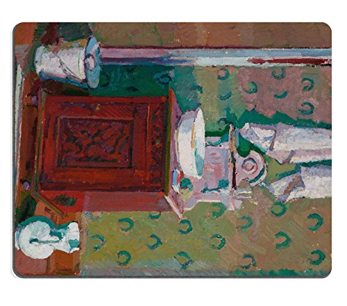 MSD Mouse Pad Harold Gilman Interior With A Washstand Google Art Project Customized Desktop Laptop Gaming Mousepads