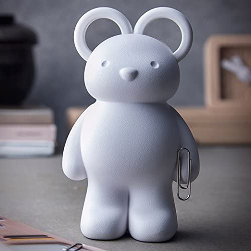 QUALY Ours porte-ciseaux qualy teddy bear blanc QL10209WH