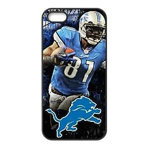 Detroit Lions iPhone 5 5s Cell Phone Case Black persent zhm004_8498410