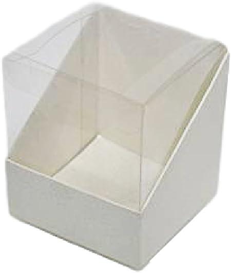 10 Cajas 8 x 8 x 9 Duo Transparente: Amazon.es: Hogar