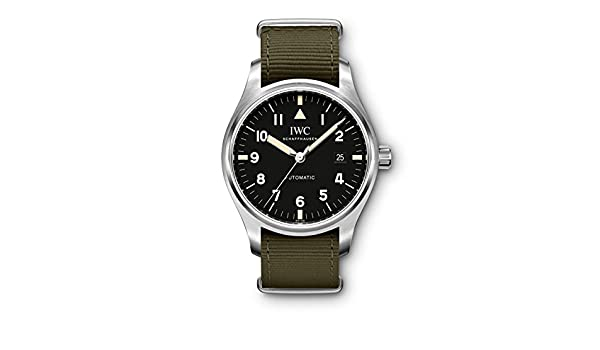 Amazon.com: IWC Schaffhausen Pilots Watch Mark XVIII Edition Tribute to Mark XI MODEL#: IW327007: Watches
