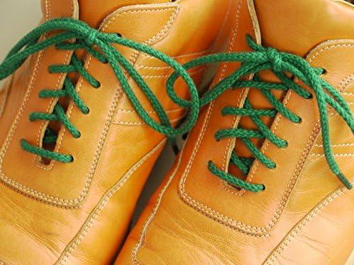 靴ひも.com・スニーカー用コットン靴紐(丸・No.602-S・3.5mm幅)・120cm