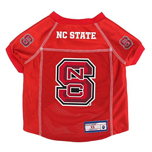 NCAA NC State Wolfpack Pet Jersey, XS