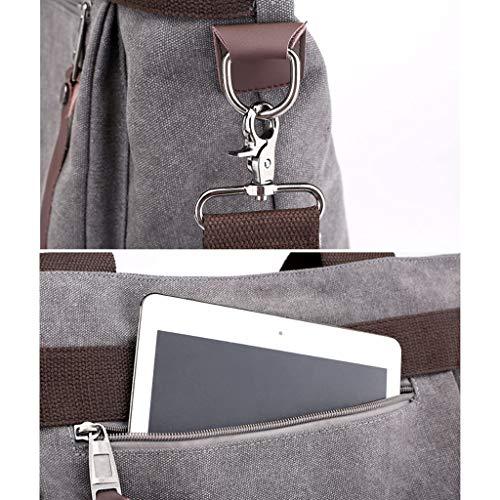 Toile Messenger Mesdames Crossbody Sacs Épaule Capacité Grande Satchel Mode Casual CHENGYI Voyage Noir Bag w0FEqBUB