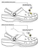 AVIRGO 6 pcs Shoe Charms Set # 192 - 1