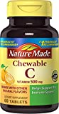 Nature Made Chewable Vitamin C 500 mg Tablets 3 Pack For Sale