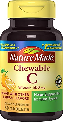 Nature Made Chewable Vitamin C 500 mg Tablets 3 Pack