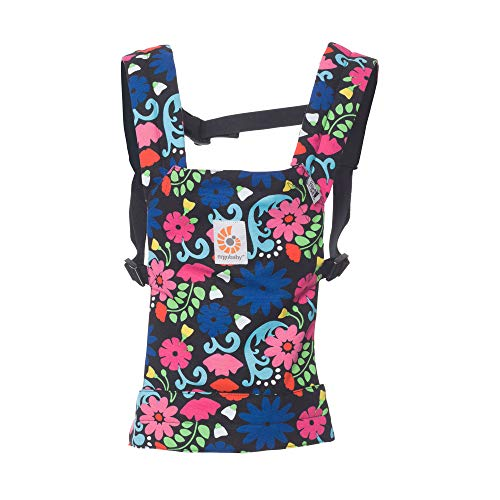 Ergobaby Original Baby Doll Carrier, French Bull - Flores (Baby Carrier Kids)