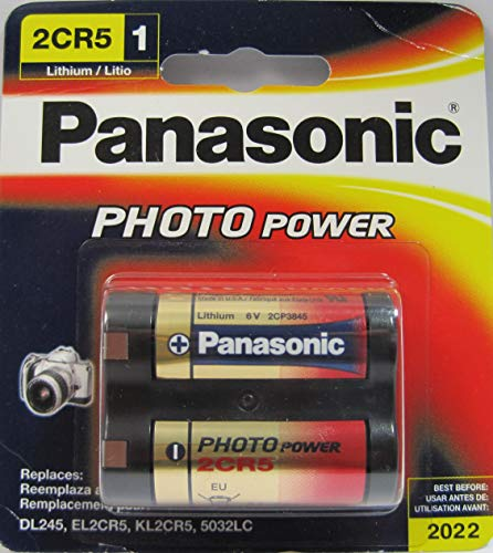 Panasonic - 2CR5 Photo Lithium Battery Retail Pack - ()
