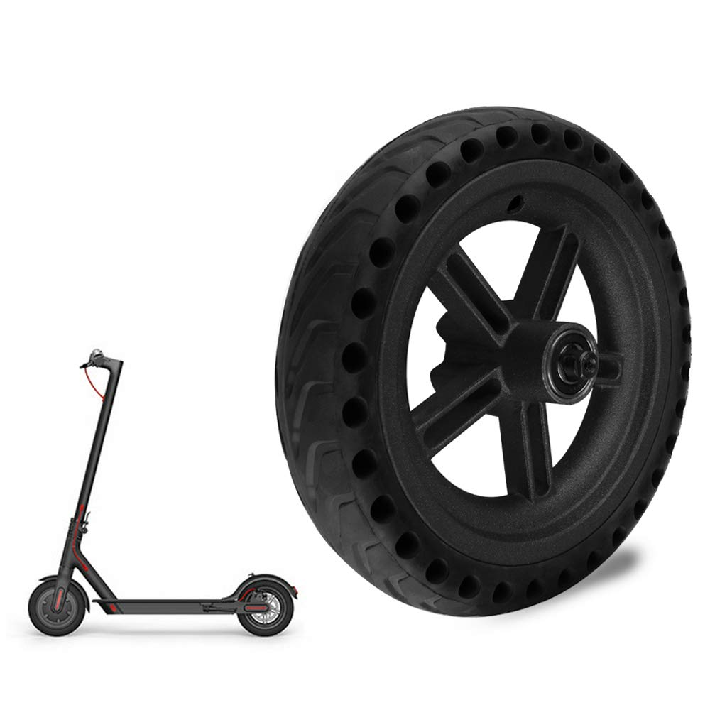 Walmeck- Explosion Proof Honeycomb Structure Anti-Skid Wheel Tire for Xiaomi M365 Electric Scooter