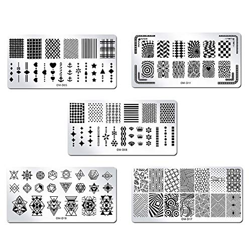 Buy star nail stamping plates