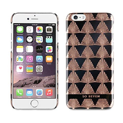 So Seven Midnight artdeco back case - voor Apple iPhone 6 6S