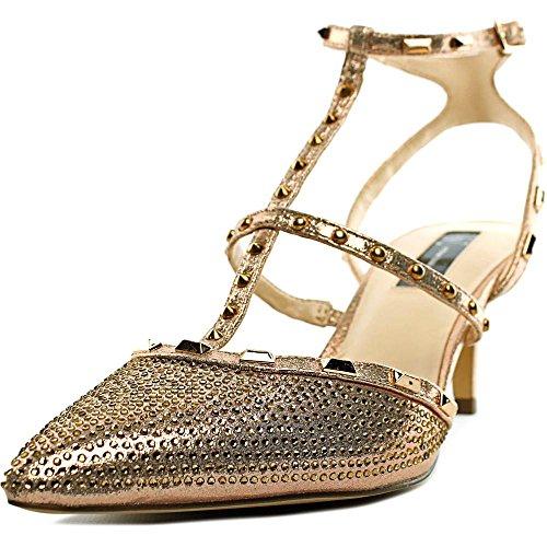 Concetti Glitter Inc Rilevare Della Pompe Donna Carma Rosa Classiche Caviglia Punta Internazionale Oro Della aTxS7T