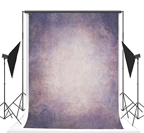 5x7 ft Abstract Photography Backdrop Purple Texture Muslin Photo Background No Wrinkle Seamless Backdrop