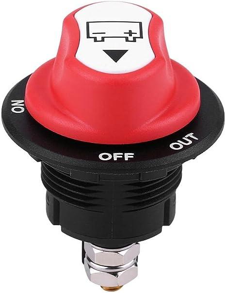 Max 32V 100A CONT 150A INT Interruttore sezionatore batteria auto on//off per auto//fuoristrada//camion Interruttore batteria Suuonee