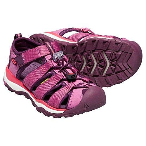Keen Newport Neo H2 Youth Red Violet/Grape Wine Unisex Kids Sporty Sandal Size 3M