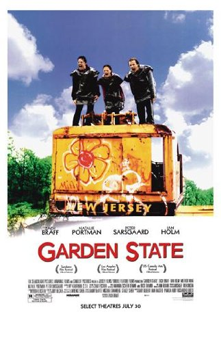 Garden State Movie Movie Art Print — Movie Memorabilia — 11x17 Poster, Vibrant Color, Features Natalie Portman, Peter Sarsgaard, Ian - Portman Natalie Glasses