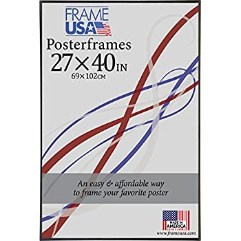 27x40 foamcore poster frame black