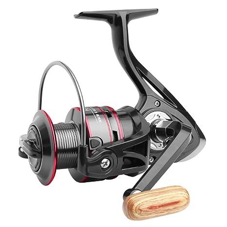 QJKai Spinning Fishing Reels Ligeros y Suaves carretes de Pesca ...