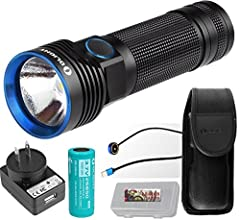 The Olight R50 PRO Seeker is a versatile rechargeable flashlight that utilizes a CREE XHP70 LED and produces an impressive 3200 lumens of brilliance and a beam distance of 273 yards in Turbo mode. With an included rechargeable high capacity 4...