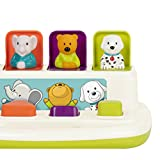 Battat - Pop-Up Pals - Cause & Effect Learning Toy for Babies