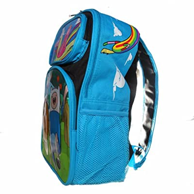 Ruz Adventure Time Jake, Finn and Princess Bubblegum Backpack Bag: Video Games