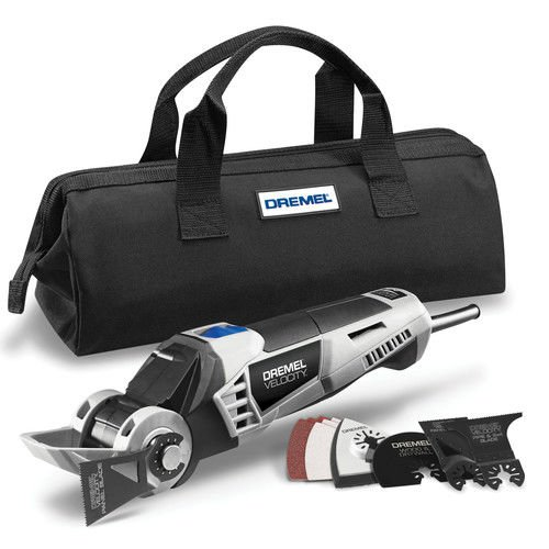 Dremel VC60DRRT Velocity 7.0 Amp Hyper-Oscillating Ultimate Remodeling Tool Kit (Certified Refurbished) by Dremel