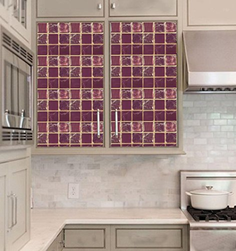 Resin Panels For Kitchen : Wootile inch resin d stair wall tile sticker