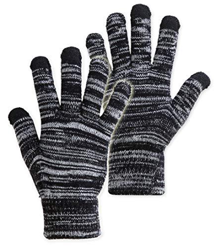 Outrip Mens Winter Warm Gloves Touchscreen Anti-slip Driving Gloves Fleece Lined