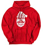 Brisco Brands Happy Holiday Swag Bag Christmas Shirt Santa Claus Hoodie Sweatshirt