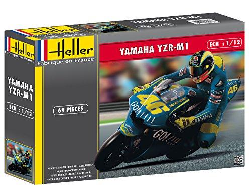 Heller Yamaha YZR M1 2004 Motorcycle Model Building Kit (Yamaha M1 Yzr 2004)