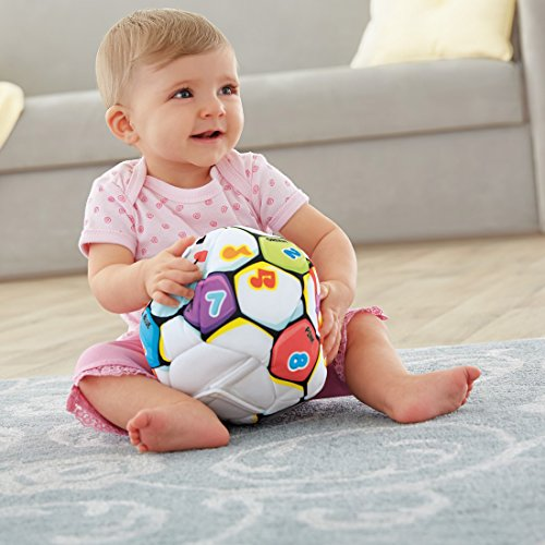 51nYiX98rsL - Fisher-Price Laugh & Learn Singin Soccer Ball