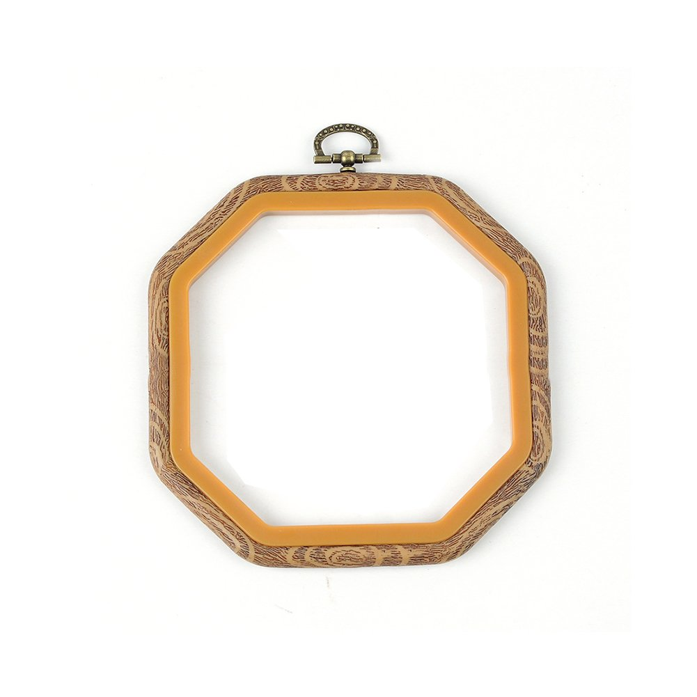 Embroidery Hoop,Woopower Cross Stitch Hoop Ring Embroidery Circle Sewing  Kit Frame Craft Photo Frame