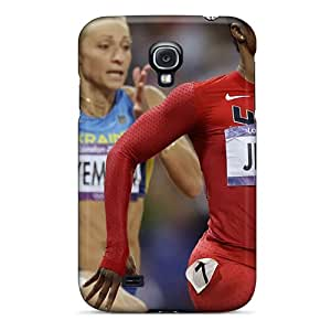 New Arrival Cover Case With Nice Design For Galaxy S4- Carmelita Jeter Athletics Women United States London 2012 Olympics