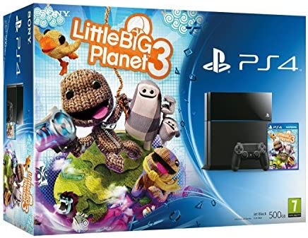 Sony Playstation 4 Console PS4 500GB Little Big Planet 3 Bundle Game Great gift for the Kids by Sony PlayStation: Amazon.es: Videojuegos