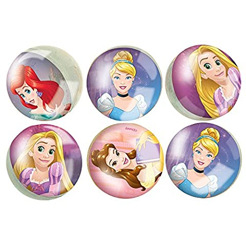 Disney Princess Bouncy Ball Party Favors, 6ct - Disney Ball