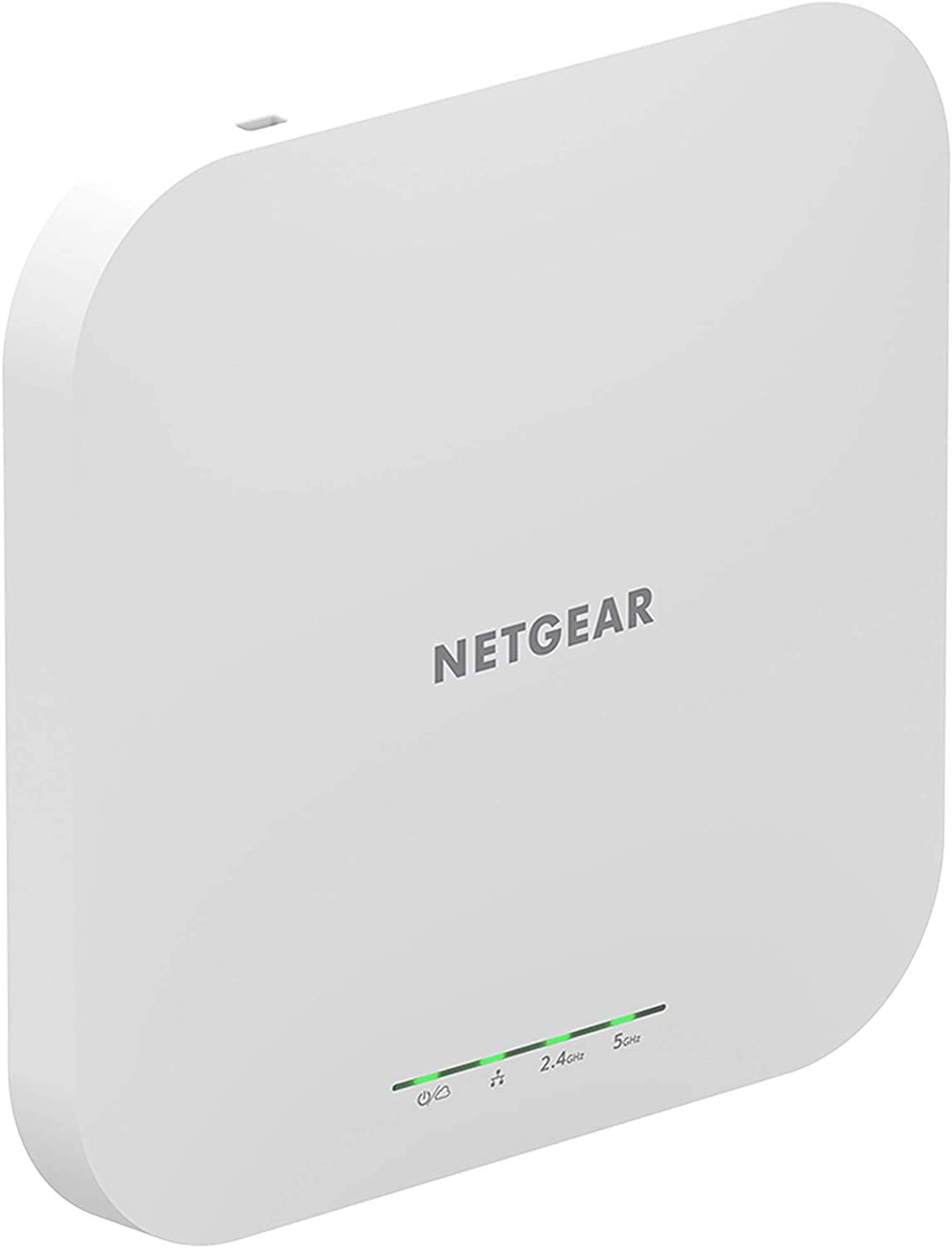 NETGEAR Wireless Access Point (WAX610PA) - WiFi 6 Dual-Band AX1800 Speed | Up to 250 Devices | 1 x 2.5G Ethernet LAN Port | 802.11ax | Insight Remote Management | PoE+ or Included Power Adapter