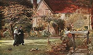 Miltons Cottage and garden, Chalfont St Giles (462252), Póster, 50 x 30 cm