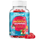 Kids Probiotic Gummies - Daily Chewable Probiotics for Children - Great for Digestion & Immune Support Kids - GMO Free Certified Organic Ingredients - Delicious Strawberry Flavored Kids Probiotic