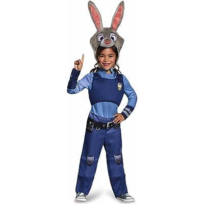 Disney Zootopia Judy Hopps Girls' Costume: Toys & Games