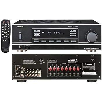 Amazon.com: Sherwood RX4508 200W AM/FM Stereo Receiver with ...
