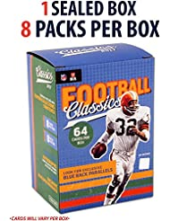 2017 Panini Classics Football Factory Sealed 8 Pack Box - Fanatics Authentic Certified - Football Wax Packs