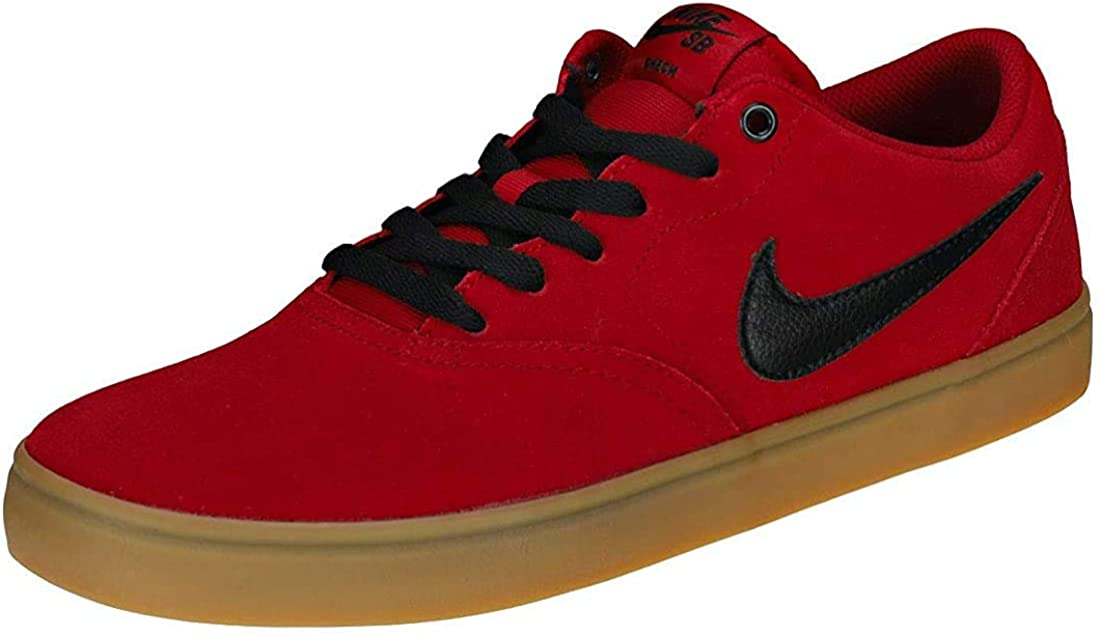 Nike SB Check Solar, Sneakers Basses Homme Multicolore Red Crush Black Gum Light Brown 001