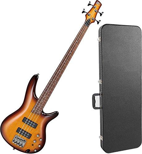 Ibanez SR370EFBBT 4 String FRETLESS Electric Bass Guitar Brown Burst w/ Hard Case by Ibanez