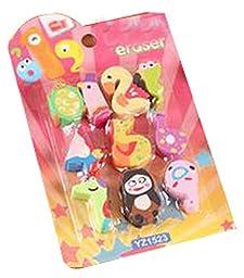 Set Of 2 Stationery Gift Eraser Eraser Children\'s Gift Prizes