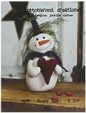 Cottonwood Creations CWC648 Snowy Heart Pattern Art
