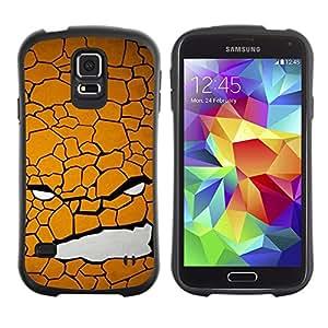 Suave TPU GEL Carcasa Funda Silicona Blando Estuche Caso de protección (para) Samsung Galaxy S5 / CECELL Phone case / / Texture Face /