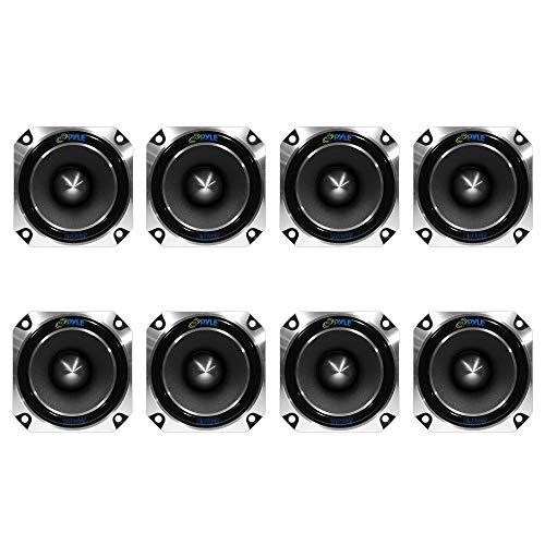 Pyle Pro Dryver 1 Inch 300 Watt Heavy Duty Titanium Super Car Tweeter (8 Pack) ()