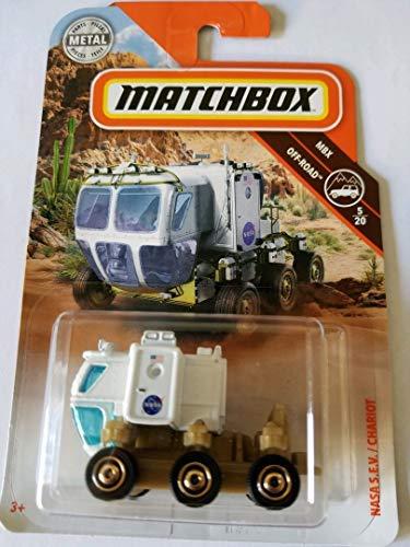 Matchbox Mattel 2018 MBX Off Road NASA S.E.V./Chariot ()